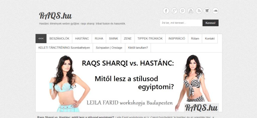 RAQS.hu hastánc magazin