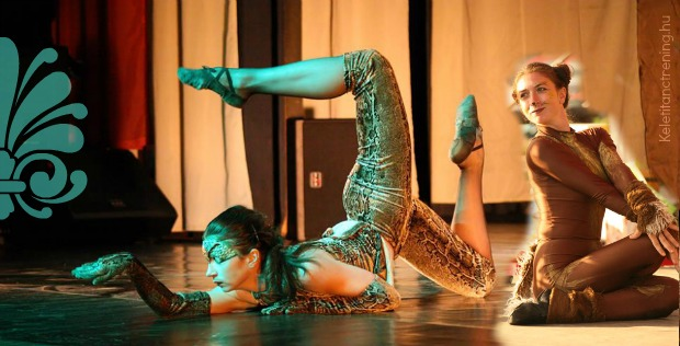 Bődi Anett kortárs jazz tréning, modern balett