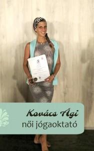 Kovács Ági Női jógaoktató