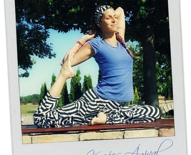 Női jóga Kovács Ágival