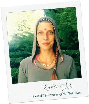 Kovács Ági . Női jóga