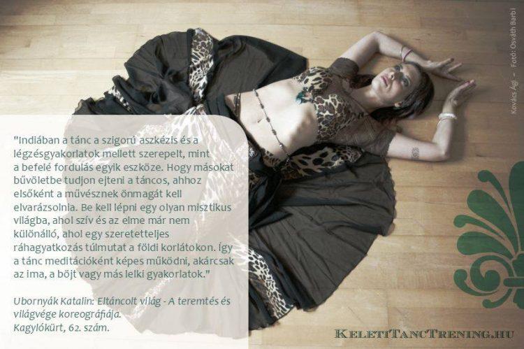 Tánc mint meditáció | Kovács Ági