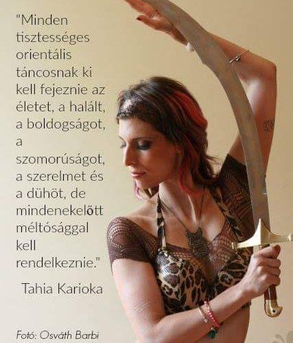 hastáncos kardos portré idézettel | Kovács Ági | RAQS.hu