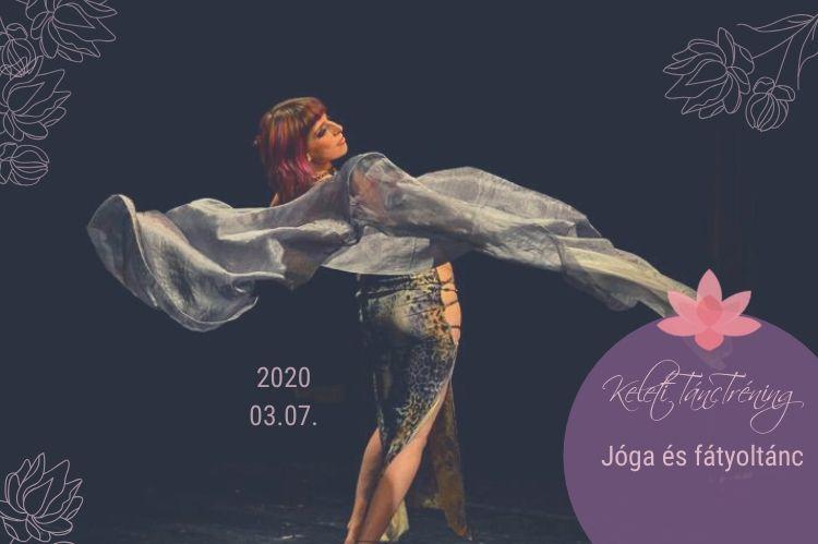 Orientális tánc fátyollal | Kovács Ági